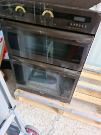 Oven, extractor and electric hob