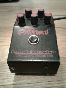 Dean Markley Overlord Overdrive pedal