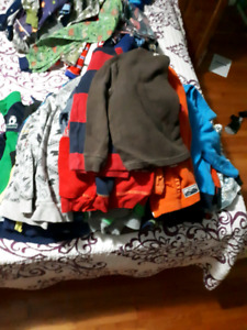 Huge lot of boys clothes