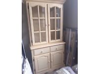 PAINTED SOLID PINE SMALL DRESSER IN VERY GOOD CONDITION ,,FREE LOCAL DELIVERY 07486933766