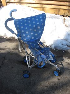 KIDS  TODDLER STROLLER  $15.00