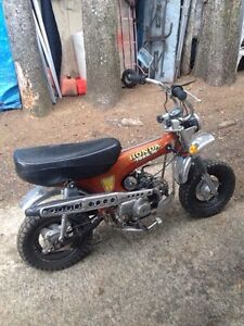 Wanted Honda mini bike in any condition