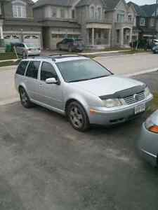 2006 Volkswagen Jetta TDI Wagon 5 speed, needs cam.