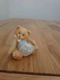 Hugs & Kisses Cherish Teddy Ornament