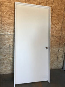 """2 Interior doors with casing and jam- doors are 36"""" x 80.25"""""""