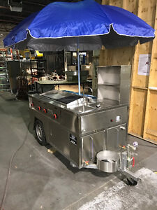 Hot dog and concession carts IN STOCK
