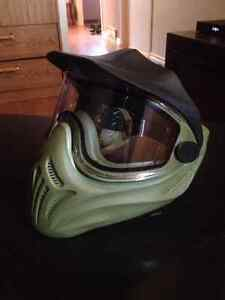 GREEN HELIX PAINTBALL MASK FOR $40