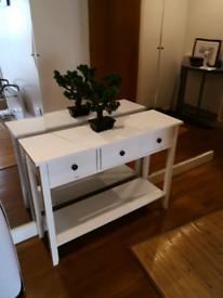Beautiful Hallway Table white