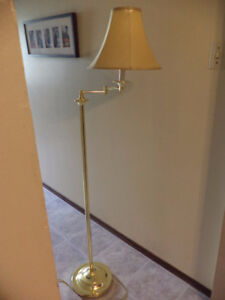 Swing arm lamp 60 inches height