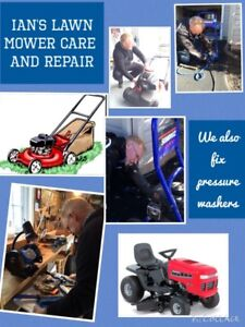 Lawn Mowers Serviced by Your Neighbourhood Care and Repair Guy