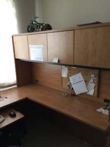 Office Desk and cabinets !