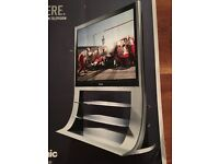 """Panasonic Viera 37"""" Plasma TV with integrated stand and DVD Home Theatre Sound System"""