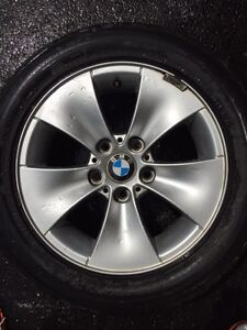 BMW 3 series rims and run flat tires 5x120 bolt pattern