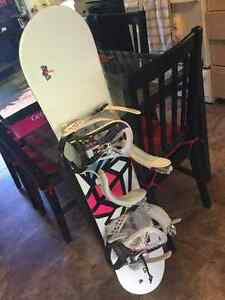 Snowboard, Boots, and Bindings for sale!