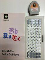 Cricut Blackletter cartridge