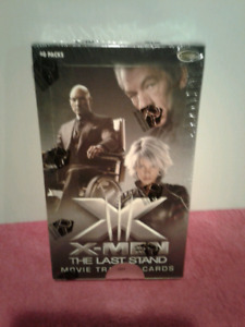 Carte Boîte  X Men Last Stand  Movie Autograph Cards