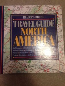 Travelers guide of North America