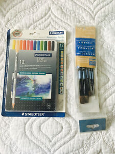 Water pencil colour set ( FREE BRUSH SET)