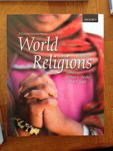 UNIVERSITY TEXT BOOK - A CONCISE INTRODUCTION TO WORLD RELIGIONS Regina Regina Area image 1