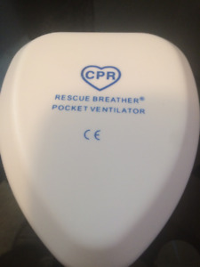 CPR rescue breather pocket ventilator