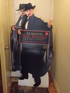 2 RARE PHANTOM OF THE OPERA COLLECTORS ITEMS:STANDEE+POSTER