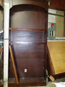 2 Bookcase with a mid section