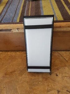 Glow Box Exterior/Interior Integrated LED Square Light Fixture