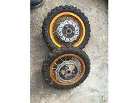 "Thumpstar pit bike wheels 10"""