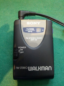 Sony FM Stereo Walkman SRF-46 - portable radio