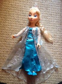 "Frozen 21"" doll"