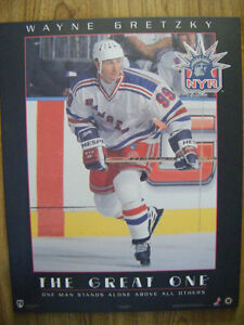 Wayne Gretzky wall plaque for sale