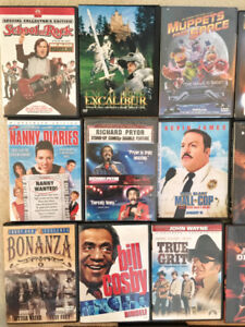 23 DVD's & 6 VHS tapes for sale