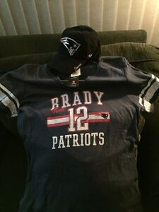 Women's New England Patriots Tshirt&Hat