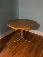 Free dining room table - Splits in half!