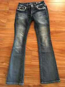 Miss Me Bootcut Jeans size 27x 34
