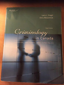 Criminology in Canada 4th Edition by Siegel