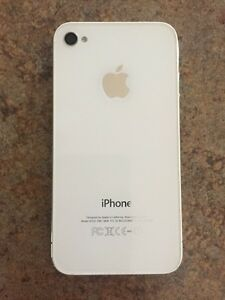 iPhone 4 - excellent condition (with case, charger & earphones)