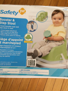 Safety 1st. Booster & Step Stool
