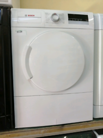 Bosch 8kg vented dryer with warranty at Recyk Appliances