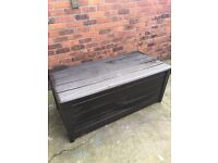 Large Plastic outdoor storage chest