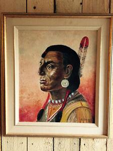 Peinture de. Berthe irene brunelle 1918-2014