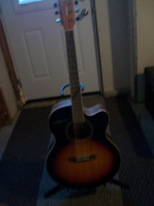 CORT GUITAR WITH STAND