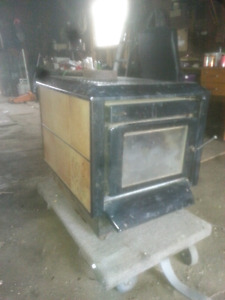 Two wood stoves perfect for garage a Shack or camp