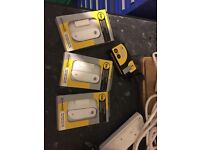 YALE door sensors x4 / boxed and as new condition