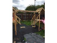 Climbing frames and more