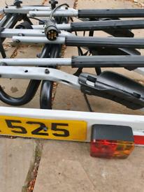 Thule tow ball 3-bike carrier