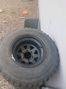31 inch tires on 11 inch wide rims