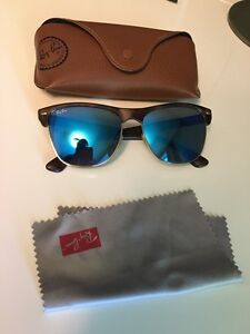 Ray Ban Clubmaster Oversized Blue Flash Peterborough Peterborough Area image 1