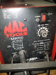 Mac tools mig welder