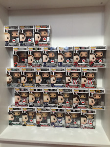 NHL Funko Pop collection.